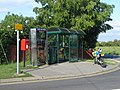 Telephone box and friends, at road junction - geograph.org.uk - 441362.jpg