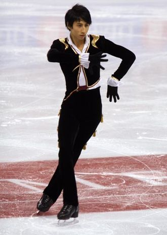 Jeremy Ten - Ten at the 2008 Skate Canada International.