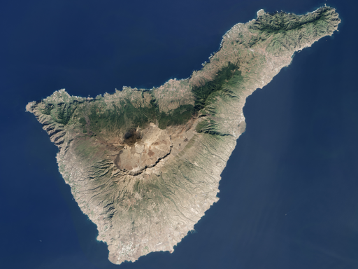 Tenerife LANDSAT-Canary Islands