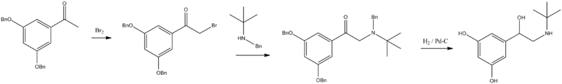 Terbutaline synthesis.png