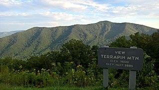 White Oak Ridge-Terrapin Mountain