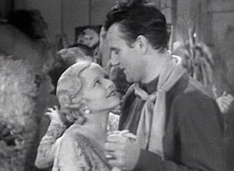 Lucile Browne - Browne and John Wayne in Texas Terror (1935)