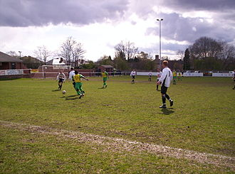 Boldmere St. Michaels F.C. - Boldmere (white shirts) in action in 2008