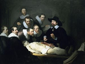 """Anatomy Lesson of Dr. Nicolaes Tulp&quot..."
