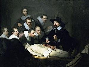 Lección de anatomía del Dr. Nicolaes Tulp