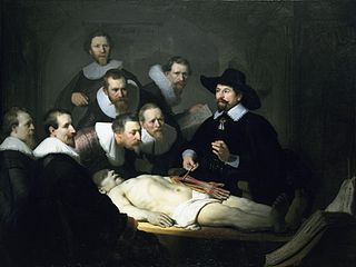 The Anatomy Lesson of Dr. Nicolaes Tulp - Rembrandt, 1632