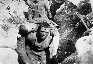 World War I film propaganda - A scene from The Battle of the Somme