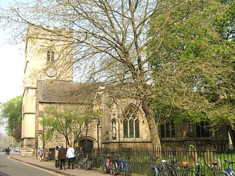 St Mary Magdalen's Church, Oxford - Image: The Church of St Mary Magdelene, Oxford (3445148033)