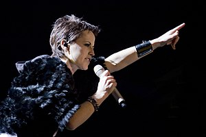 Dolores O'Riordan - O'Riordan with The Cranberries, 13 March 2010