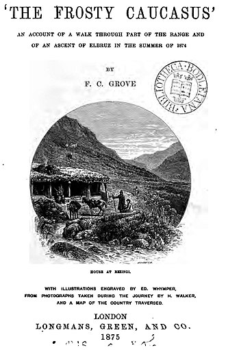 Florence Crauford Grove - The Frosty Caucasus, front page