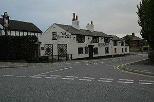 Croft, Cheshire - Image: The Horse Shoe, Croft geograph.org.uk 29476