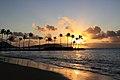 The Kahala Hotel & Resort Oahu Privete Beach.JPG
