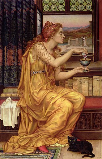 Magician (fantasy) - The Love Potion by Evelyn De Morgan