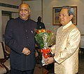 The Minister for New and Renewable Energy, Shri Vilas Muttemwar meeting with the Prime Minister of the Kingdom of Thailand, Mr. General Surayud Chulanont, in New Delhi on June 26, 2007.jpg