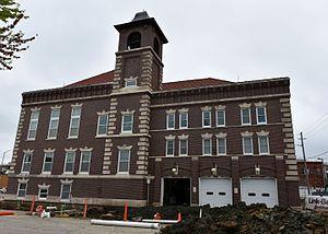 Oskaloosa Fire Station - Image: The Oskaloosa Fire Station