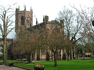 Nantwich - St Mary's Church.