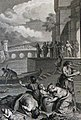 The Phillip Medhurst Picture Torah 305. Waters of the Nile turned into blood. Exodus cap 7 vv 20-21. Marillier.jpg