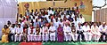 The Prime Minister, Shri Narendra Modi in a group photograph with the Awardees, on the occasion of the National Panchayati Raj Day, at Mandla, Madhya Pradesh.JPG