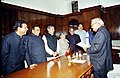 The Prime Minister Shri Atal Bihari Vajpayee meets a delegation led by the Chief Minister of Delhi Smt. Sheila Dikshit in New Delhi on February 03, 2004.jpg