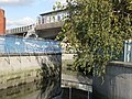 The River Ravensbourne near Deptford Bridge DLR station - geograph.org.uk - 1081541.jpg