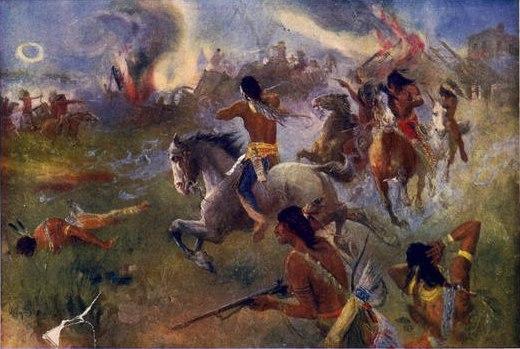 The Siege of New Ulm Minn