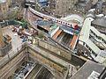 The Underground goes over the Overground at Whitechapel (11421351404).jpg
