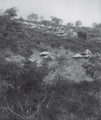 The Venda people's Mbilwe village on a rising slope as photographed in 1920s.png