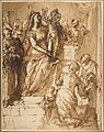 The Virgin and Child with Saint Joseph, Attendant Angels, and a Group of Supplicants MET DP812825.jpg