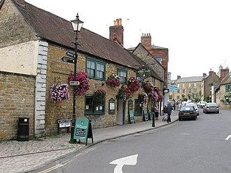 White Hart - The White Hart Pub. Sherborne - geograph.org.uk - 1502034