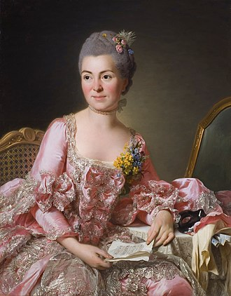 1770 in art - Image: The artist Marie Suzanne Giroust
