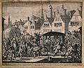 The assassination of Henry IV, King of France, 1610; a tumul Wellcome V0041522.jpg