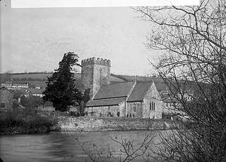 The church, Llandysul (Cer)