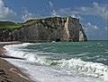 The coast of Etretat in September. France.jpg