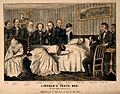 The death of President Abraham Lincoln in Washington, 1865. Wellcome V0006748.jpg