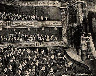 John Molson - A performance at Molson's Theatre Royal, Montreal, 1825