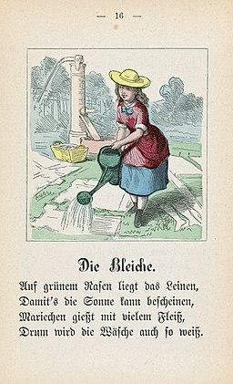 Theodor Hosemann Die Bleiche