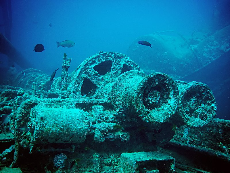 Thistlegorm train parts minus red edit