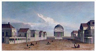 The Lawn - Steel engraving, 1831