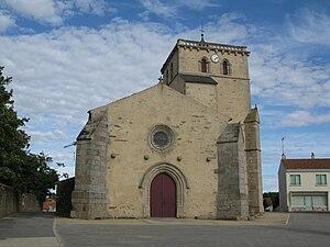 Thorigny - The church in Thorigny