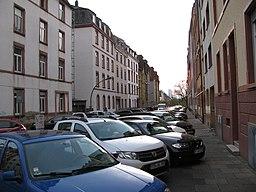 Throner Straße in Frankfurt am Main