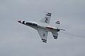 Thunderbirds Lockheed-Martin F-16C Fighting Falcon Number 5 Solo Roll 04 SNF 16April2010 (14443803019).jpg