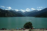 Tian Shan Mountains in Xinjiang