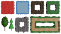 Tileset 2D Game Development - Ground, Water, Dirt, Path.png