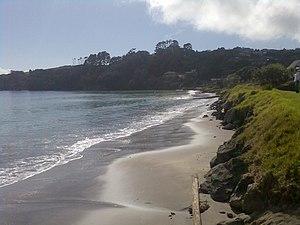 Whangaparaoa Peninsula - Tindalls Beach in late winter