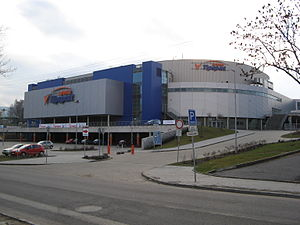 2008 World Junior Ice Hockey Championships - Image: Tipsport Arena, Liberec