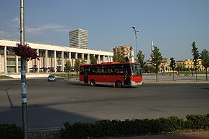 Bus lines in Tirana - Smaller buses serving rural Tirana