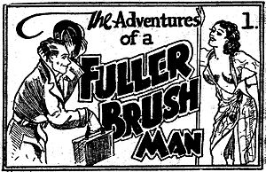 Tijuana bible - The first 8-page installment of The Adventures of a Fuller Brush Man, published circa 1936.