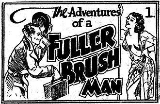 Tijuana bible - The first eight-page installment of The Adventures of a Fuller Brush Man, published circa 1936