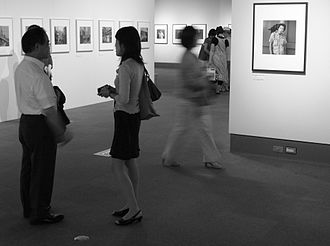 Tokyo Photographic Art Museum - Basement exhibition room, August 2011