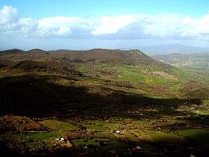 Monti della Tolfa - A view in the Monti della Tolfa.